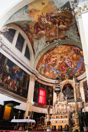 Basilica di San Pietro di Castello Altar Church Venice, Italy Architecture Built Structure Day Fresco Indoors  Italy Low Angle View No People Place Of Worship Religion