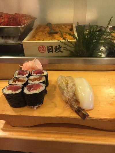 Food Freshness Japanese Food Raw Fish Sashimi  Scallop Seafood Shrimp Sushi Tuna Roll