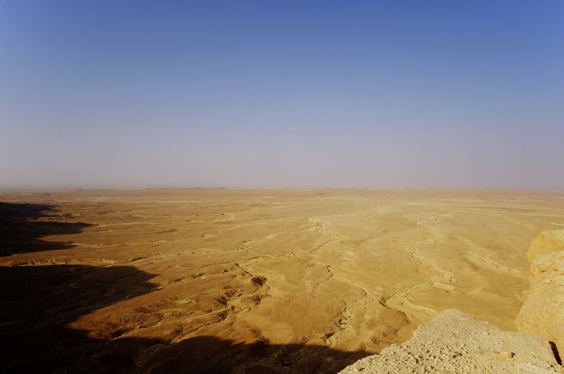 Arid Climate Beauty In Nature Clear Sky Day Desert Environment Hiking Landscape Nature No People Outdoors Sand Scenics Shadows Shadows & Lights Sky Tranquil Scene Tranquility