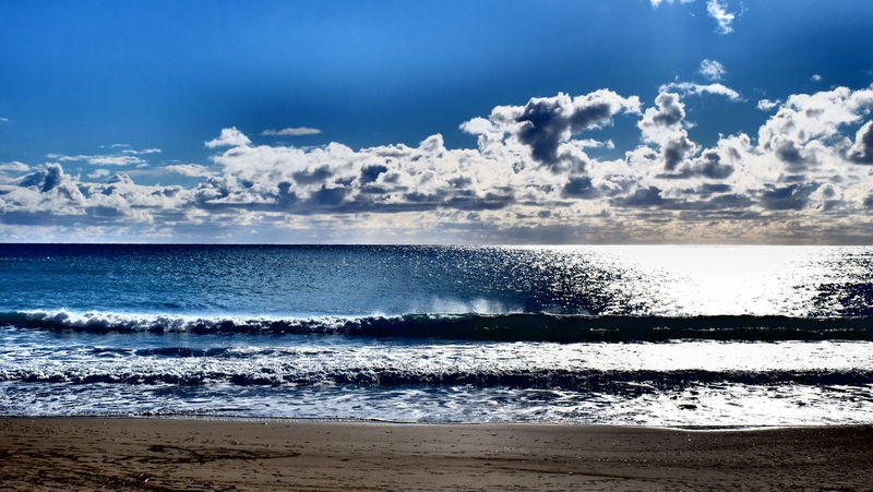 Beach Beachphotography Beach Photography Sea Seaside Seascape Sea View Sea And Sky Clounds  Clounds And Sky Sant Elm Mallorca Mediterranean Sea Maditerraneo Seaview Waves Calm Balearicislands SPAIN Sea_collection Sky_collection Sky_collection Kiomi Collection