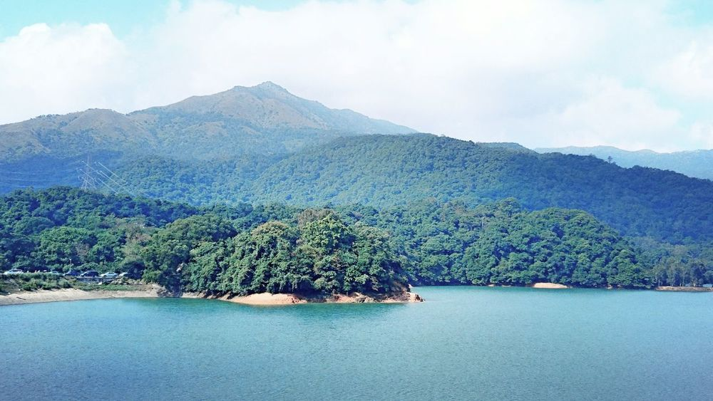 Nature Mountain Beauty In Nature Water Scenics Tranquility Tree Tranquil Scene Lake Landscape No People Outdoors Forest Day Sky Freshness Reservoir Tranquility Harmony With Nature Nature Of Beauty Shing Mun Reservoir Hong Kong Environmental Conservation Nature Sky And Sea
