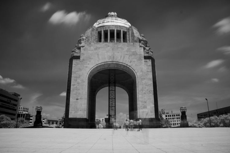 Infrared n.1 Black & White Blackandwhite Infrared Politics And Government City Dome Architectural Column History Arch Sky Architecture Building Exterior Built Structure Monument The Architect - 2018 EyeEm Awards The Traveler - 2018 EyeEm Awards