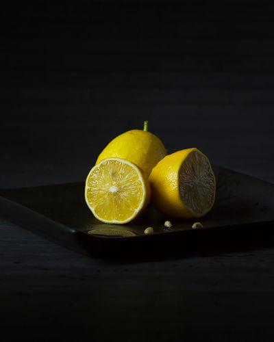 Three lemons on