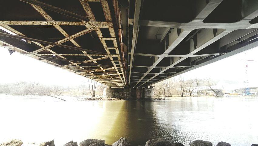 Under the bridge Under The Bridge Bridge Streetphotography Urbanphotography Railway Bridge Opositive