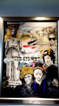 History Painted Image Indoors  Day No People King - Royal Person Close-up Who Are You ? Art Art Is Everywhere Artistic Why Not? Athinaikon Athens