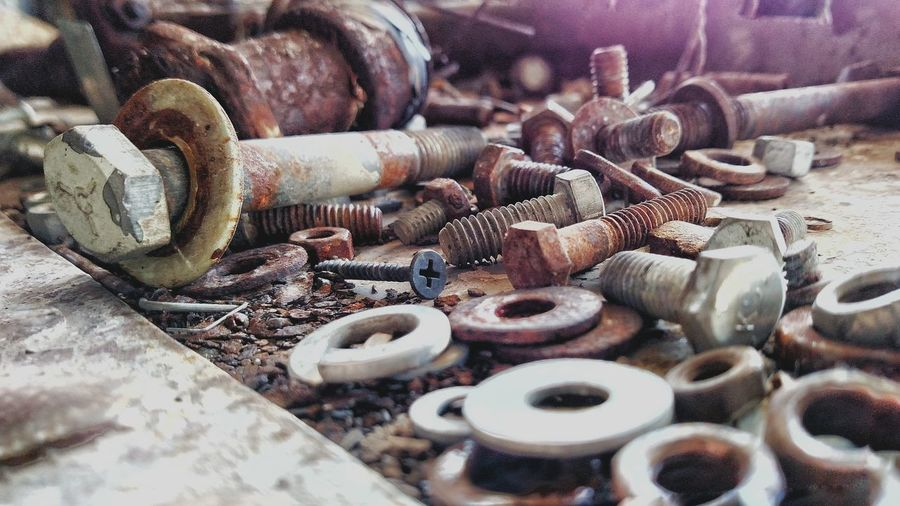 Industrial Photography Nuts And Bolts Extra Parts If We Could Talk Eyeemphoto The Week On EyeEm