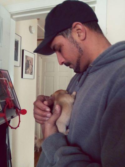 Puppy Love Cuddletime Puppylove🐾🐶 Inlove♥ Mananddog This Is Masculinity Men Door