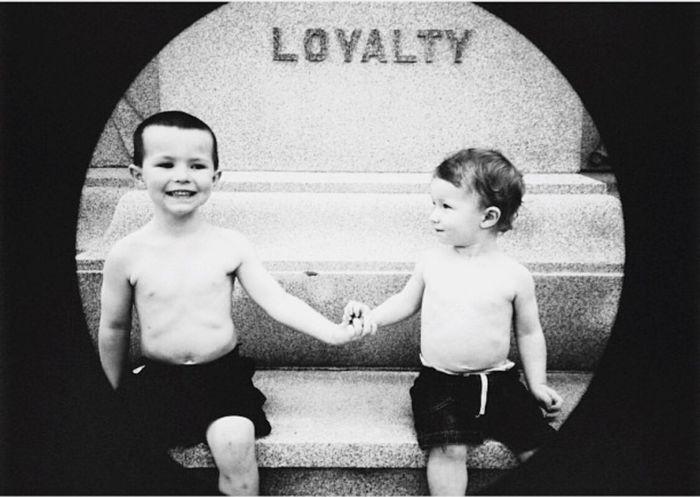 Love Without Boundaries Brotherhood Family Love Children Grandson