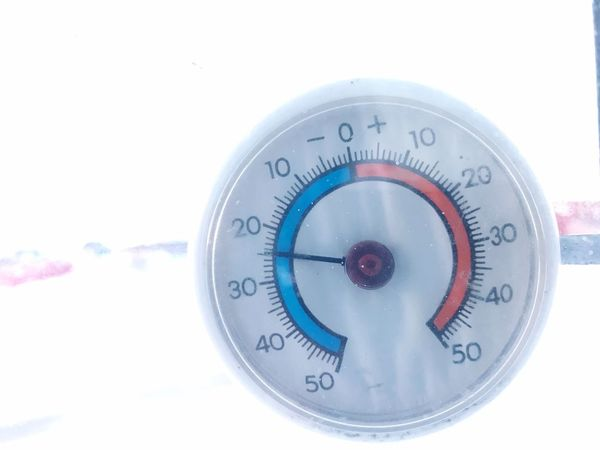 Wow, it's Cold!😱😱 Cold Temperature Direction Navigational Compass Single Object Guidance No People Gauge White Background Cold Temperature Close-up Outdoors Day