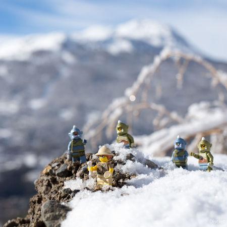 Oh un os ! Archeology Archeological Deepfreeze Toysphotography LEGO
