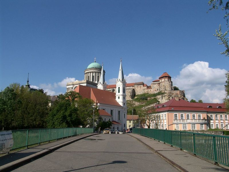 Esztergom Basilica View Hungary Seeing The Sights