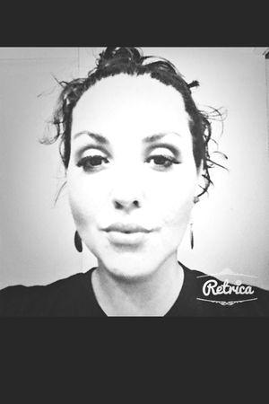 Black & White Self Portrait Thats Me  Enjoying Life