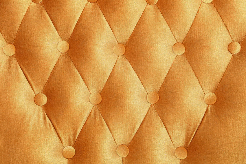 Golden yellow luxury capitone style tufted buttoned fabric textile pattern background Background Background Texture Backgrounds Bed Bottom Capitone Chesterfield Classic Close-up Decoration Design Fabric Gold Golden Home Interior Interior Interior Design Interior Style Pattern Pattern Pieces Rich Sofa Textile Wall Yellow