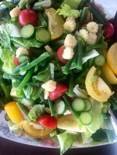 Food Healthy Eating Freshness Vegetable Wellbeing Salad Ready-to-eat Plate Healthy Lifestyle Close-up