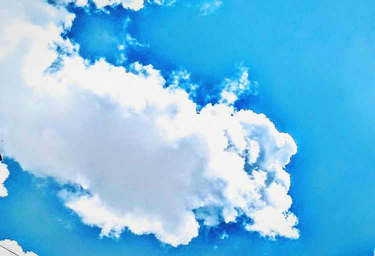Blue Cloud - Sky Nature Sky Backgrounds Outdoors No People Day Beauty In Nature Beautiful Nature