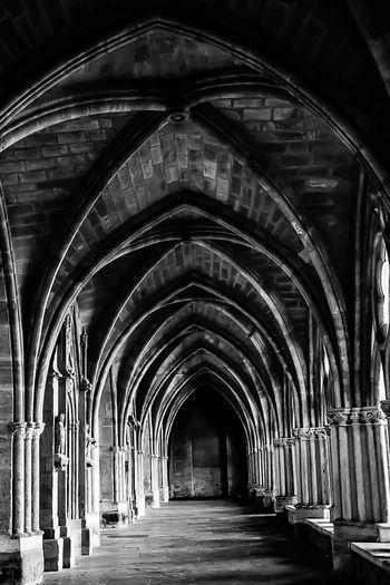 Architecture Built Structure Arch City Nikon Nikonphotography Monochrome Archway Cathedral Noir Et Blanc