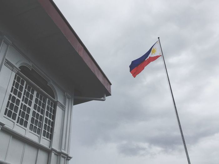 May the heavens preserve you. Flag Patriotism Philippines