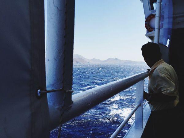 Sea VisitGreece Ferry Waves EyeEm Best Shots Sommergefühle