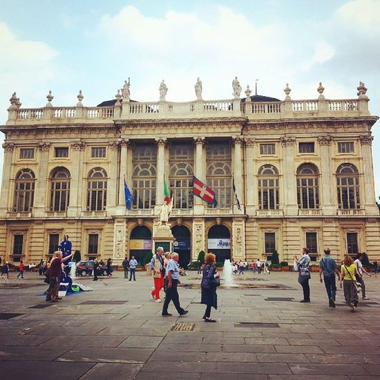 Quant'è bella Torino e quanta storia racchiude in sé. Palazzomadama Palazzo Madama Torinoélamiacittá Torinocentro Torinodigitale Torinopics Turin Turinheart