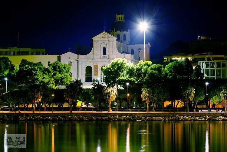 Chiesa di Bonaria by night from to Cagliari Hello World First Eyeem Photo