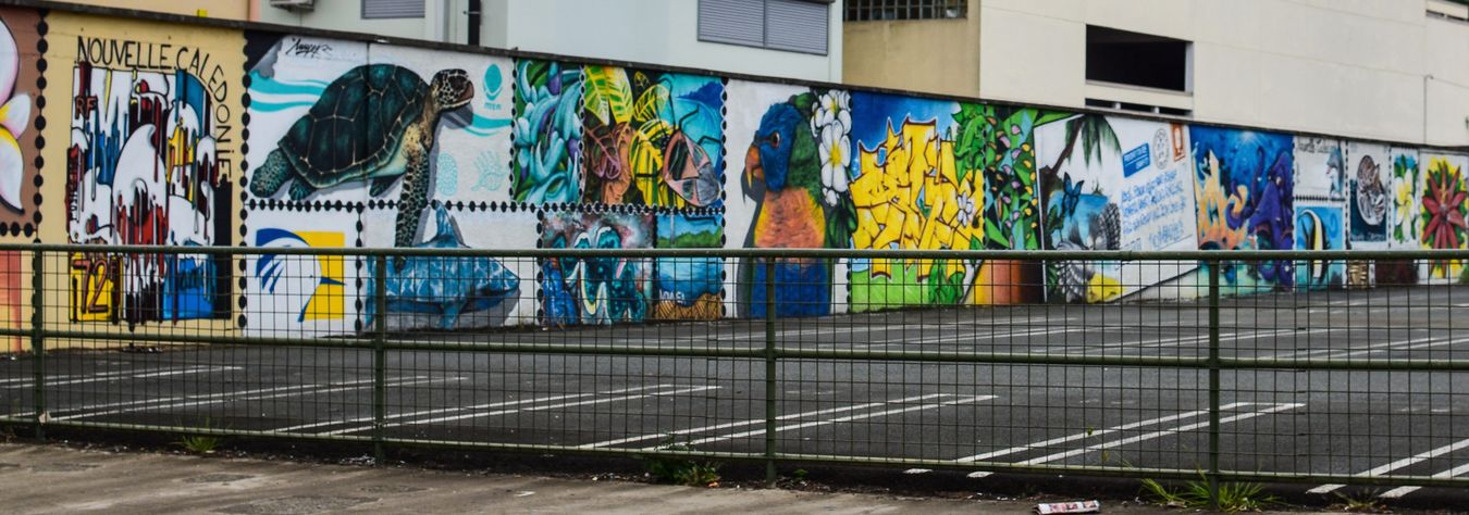 Painted Wall Painted Walls Colorful Streetphotography Street Art Noumea New Caledonia Mural Mural Art Street Photography