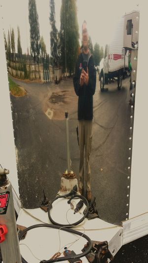 Reflective surface selfie On The Road Observing Beautiful Day Enjoying Life Enjoying The View Urban Filter 4 Metal Taking Photos Selfie Portrait Just Shiney