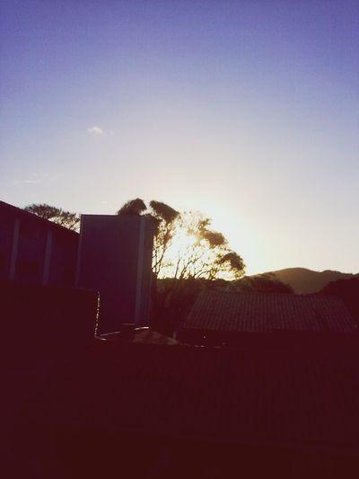 sunset in my window Relaxing Enjoying Life