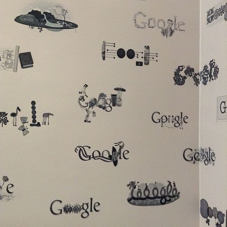 Google doodle wallpaper