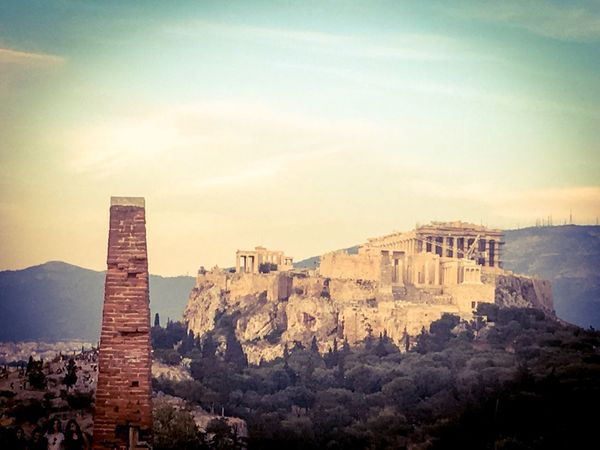 Acropolis View by Pnyx ✨ Amazing Place Amazing People Amazing Day ♥ Athens
