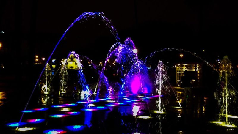 Water Park, Magic Water Show, lights show, the Park of the Reserve, Lima, Peru. Water Show Lights Show Water Park Guinness World Record The Park Of The Reserve Lima Peru Night Life Colors Colorful 43 Golden Moments Showcase July Travel Colour Of Life
