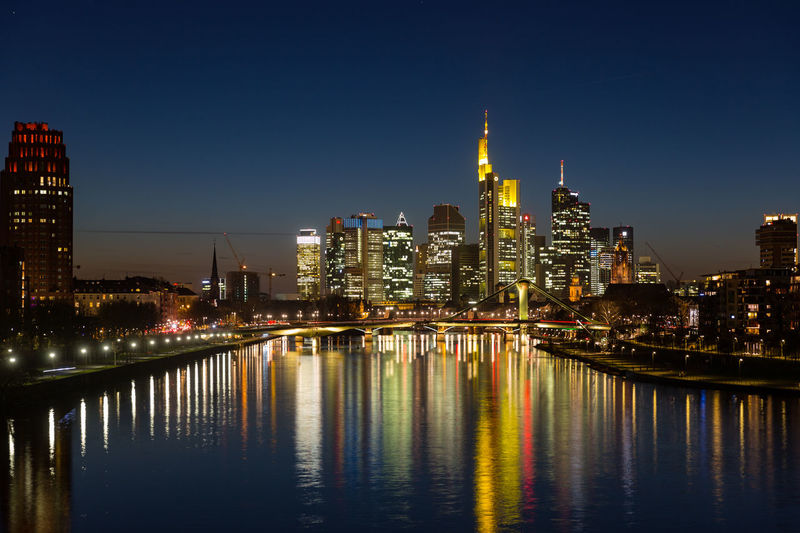 Financial district of frankfurt