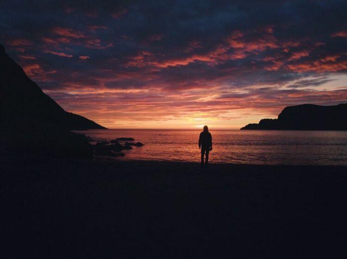 Hoddevik Sunset