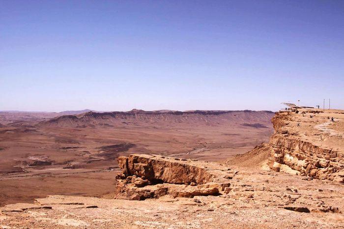 Israel Krater Mizpe Ramon Arid Climate Geology Rock - Object Nature Landscape Physical Geography Desert