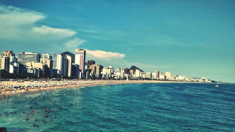Ipanema Beach by Saulo Valley Swimming Surfing Sea Tourism Rio De Janeiro Walking Around SauloValley Sundown