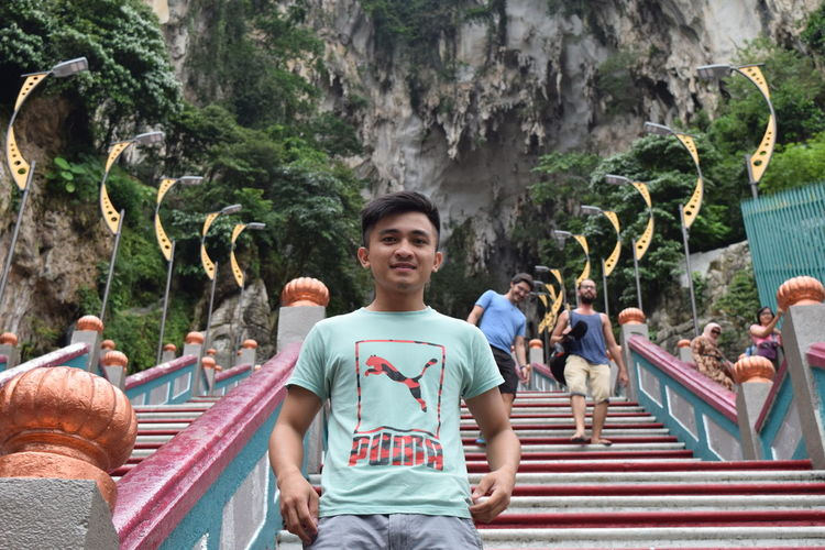 Adult Adults Only Batu Caves -Malaysia Day Men Nature Outdoors People Real People Single Man Tree Young Adult