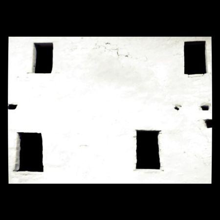 Ancient Windows #cliff #dwellings #blackandwhite Abstract Blackandwhite Mod Minimalist Cliff Jj  Jj_challenge Dwellings
