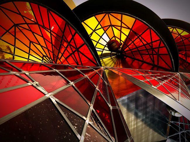 Bauhaus Art Multi Colored Bauhaus Bauhaus Style Museum Weimar IPhoneography Iphoneonly IPhone First Eyeem Photo Today's Hot Look Beauty EyeEm Best Shots EyeEmBestPics Arts Culture And Entertainment Art Is Everywhere ArtWork Art And Craft Bauhaus Museum Glass Glass Art Colorful