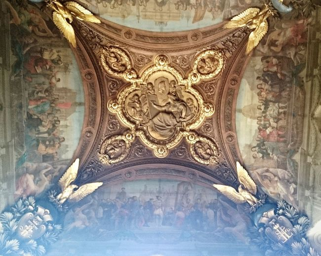 Ceiling Backgrounds Full Frame Pattern Design Close-up Decorative Art Architectural Design ArtWork Carving - Craft Product Carving Architecture And Art