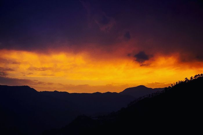 My Year My View Kausani Sunset Dusk