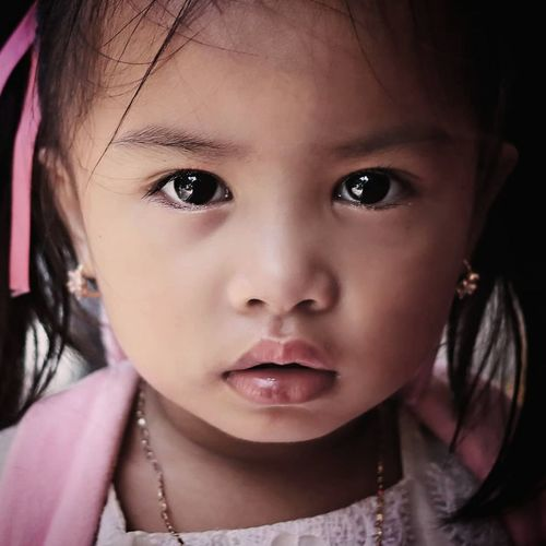 The girl Portrait Child Childhood Human Eye Human Face Girls Looking At Camera Headshot Cute Females My Best Photo