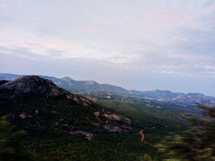 Tirumala Tirupati Devasthanams Tirumala Hills Tree Mountain Beauty Sky Landscape Grass Cloud - Sky