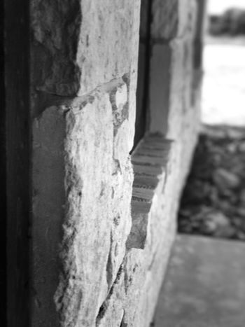 Black and white window frame side angle view Architecture Black And White Built Structure Close-up Day Frame No People Outdoors Side Angle Side View Textured  Windows