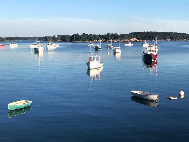 Deer Isle, Maine Maine Deer Isle Water Nautical Vessel Transportation Mode Of Transportation Sky Sea Waterfront Moored No People Mast Harbor Marina Sailboat