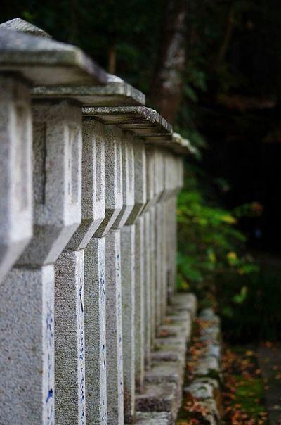 Stone Lantern Temple Japan