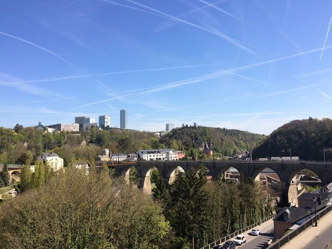 Luxembourg Vapor Trail