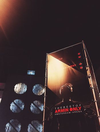 Illuminated Night Arminvanbuuren ArminOnly IPhoneography Amsterdam Johancruyffarena Amsterdamarena