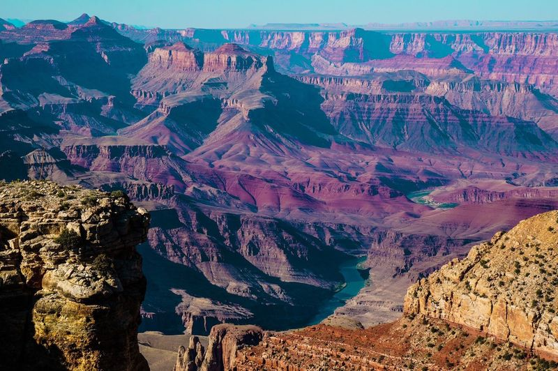 A general view of the grand canyon