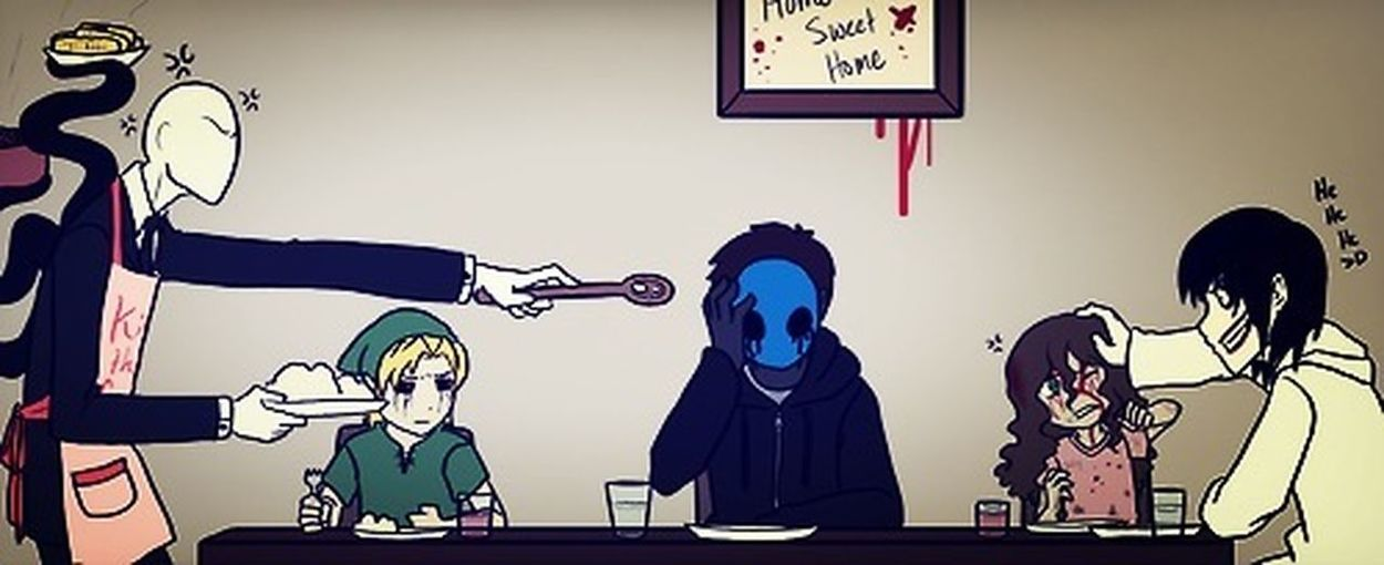 BenDrowed SlenderMan EyelessJack Jeff
