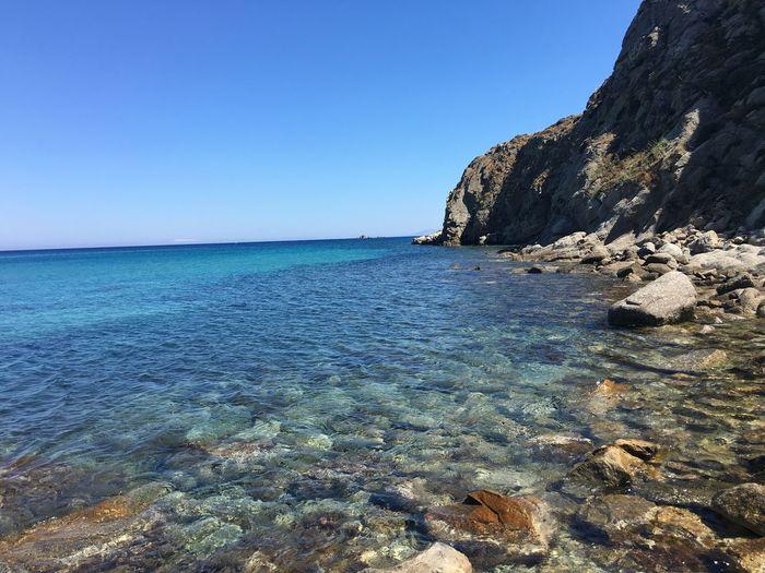Ano Mera Mykonos Greece Beach Landscape Destinations Travel Destination Tranquility Nature Peaceful Relaxing Ocean