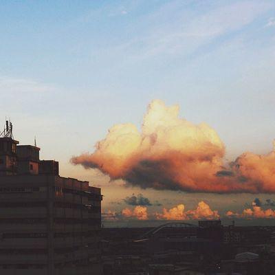 Sky Sunset Cloud Skylove_ Rsa_sky Udog_sky Ig_captures_sky Instasky VSCO Vscocam